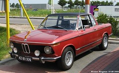 Old Red Bmw Convertible Bmw 2002 baur cabriolet 1973