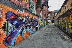 Graffiti Alley (mississaugapictures) Tags: toronto graf