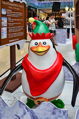 Penguin #2 (chooyutshing) Tags: decorations penguin singapore display celebrations shoppingmall attractions marinasquare rafflesboulevard centralatrium christmas2013festive takenon30november2013