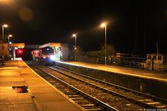 66718 Sir Peter Hendy CBE 26th Dec 2013 Woodbridge (Ian Sharman 1963) Tags: train suffolk diesel great engine engineering loco 66 class dec line east peter british sir woodbridge 26th cbe hendy 2013 railfreight whitemoor gbrf 66718
