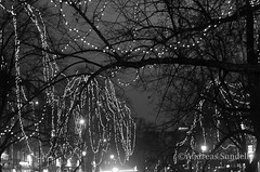 Winter lights (A.Sundell) Tags: bw 50mm blackwhite pentax sweden bokeh swedish uppsala sverige traveling smc nifty the svartvit f17 5017 smca50mmf17 a pentaxk5 thetravelingnifty50mm