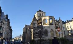 Chevet de l'Église Saint-Sauveur, ancienne Notre-Dame-de-Froide-Rue. Caen (Basse Normandie)