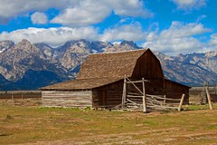 Barn in the Tetons National Park (Mysophie08) Tags: thumbsup infocus highquality gamewinner friendlychallenges thechallengefactory gamex2winner gamex3winner