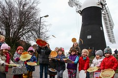 Holgate Windmill pancake day 2014 (8)
