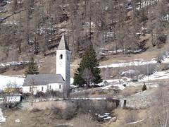 Kirche Lavin, Graubünden, Swizterland (W-chlaus) Tags: church schweiz switzerland tank suisse swiss wwii kirche ww2 trap armee panzersperre lavin graubünden sperrstelle bunkerfreunde