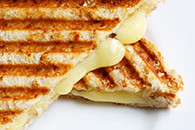 Grilled Cheese Sandwich (AtlantaParent) Tags: cheese breakfast bread lunch cafe toast sandwich grill snack vegetarian grilled panini grilledcheesesandwich toasted wholewheat healthyeating wholegrain grillmarks toastedsandwich delisandwich jaffle