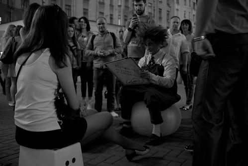 Arbat Street Artist /  ©  Still ePsiLoN