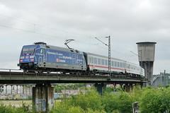 P1640025 (Lumixfan68) Tags: ic eisenbahn db 101 bahn intercity deutsche züge loks adtranz baureihe elektroloks werbeloks drehstromloks