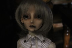Gill (Bearcalledred) Tags: angel ball doll body dream undead bjd creature pandora supernatural drowned ftm jointed ghast bobobie