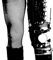 B and W Brace Too (JKiste2008) Tags: leg brace caliper
