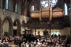DSCN0069c Rebeca Omordia, piano, plays Legend by John Ireland with Ealing Symphony Orchestra. Conductor John Gibbons, Leader Peter Nall. St Barnabas Church, Ealing, London. 18th July 2015 (Paul Ealing 2011) Tags: ireland london church st john piano peter orchestra leader legend symphony barnabas ealing eso conductor rebeca gibbons nall omordia