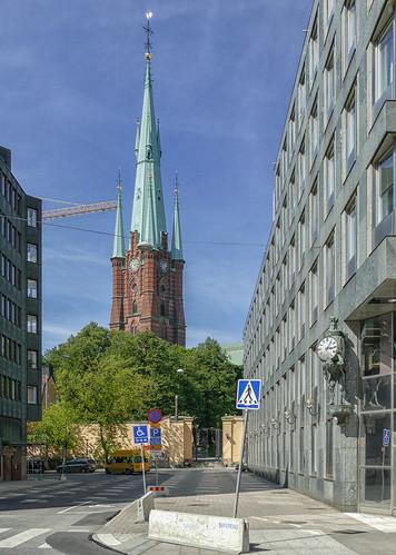 Klara kyrka & Stockholms-Tidningens klocka, Stockholm