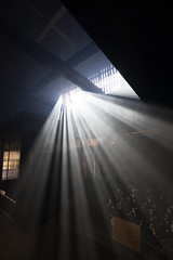 light in room (semitune) Tags: light dark room house backlight beam ray japan tsumago nagano semitune