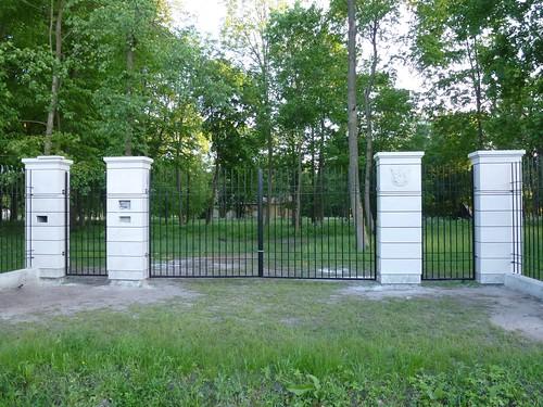 Brama po dworze w Dobrzyńcu