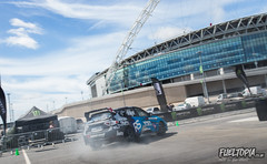 Fueltopia Barrel Sprint @ Wembley Stadium (Dan Fegent) Tags: blue fueltopiabarrelsprint fbs fueltopia barrelsprint wembleystadium london uk england qualifier gymkhanagrid ft grassroots awesome fun wicked brilliant bikes motorbikes cars automotive canon1dx fullframe eos1 proseries behindthescenes vlog lukewoodham monsterenergy
