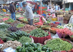 India (Udaipur) All are organic vegetables (ustung) Tags: india udaipur market vegetables organic bazaar nikon candid