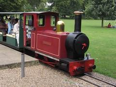 Buxton Pavilion Gardens Miniature Railway 03082007a (Rossendalian2013) Tags: buxton paviliongardens miniaturerailway steamoutline dieselhydrauliclocomotive alankeef 060dh
