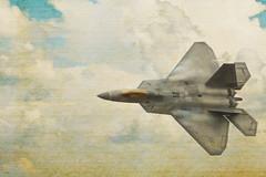 F-22 Raptor  ⚡⚡ (sugarbear1956) Tags: f22 raptor f22raptor lockheedmartin stealth machtwo lethality airshow texture thegalaxy nikonflickraward abigfave greatphotographers nikonpassion flickrunitedaward thebestshot netartii mycameraneverlies