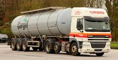 DAF CF Turners Cargill Tanker AK63PUA Frank Hilton IMG_50841 (Frank Hilton.) Tags: classic truck lorry eight wheel maudsley aec atkinson albion leyalnd bristol austin outside heavy haulage crane 8 axle