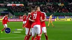 النمسا ( 2 - 0 ) مولدوفا تصفيات كأس العالم : أوروبا (ahmkbrcom) Tags: كأس العالم