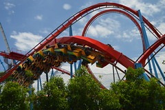Dragon Khan (CoasterMadMatt) Tags: 2013 portaventura port aventura parque temtico parque temtico theme park theme park amusement de atracciones atracciones european destination resort european resort atraccin attraction port aventura may mayo spring primavera season temporada salou tarragons catalonia catalunya spain espaa spanish espaol east este province tarragona provincia coastermadmatt fotos photos fotografas photographs fotografa photography costa daurada costa daurada dorada dorada montaa rusa montana rusa roller coaster roller coaster coasters rollercoasters dragonkhan dragon khan bm steel inversion multiinverting china