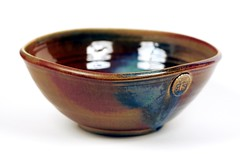 Ceramic Bowl (Chance Agrella) Tags: ceramics handmade crafts arts bowl pottery glazed stoneware dinnerware thrown
