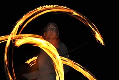 Night - Fire Poi (Jim Carroll 2) Tags: night