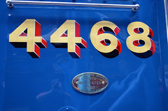 Photo of LNER Class A4 4468 Mallard - LNER Plate
