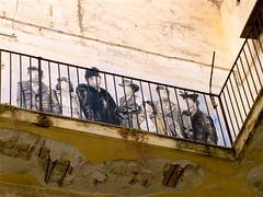 un murale sul balcone (costagar51) Tags: italy italia arte sicily palermo architettura sicilia nationalgeographic palazzi storia regionalgeographicsicilia rgsarte rgsstreetphotography architectureandcities rememberthatmomentlevel1 rememberthatmomentlevel2