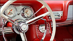 classic chrome dash thunderbird steeringwheel tbird 1960