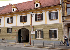 Slovenia-00442 - Fire Hall (archer10 (Dennis)) Tags: vienna tour sony free slovenia dennis jarvis maribor insight iamcanadian freepicture dennisjarvis archer10 dennisgjarvis nex7 sel35f18 18200diiiivc