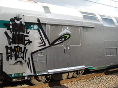 fidati di me emily! (en-ri) Tags: train writing torino graffiti grigio argento wholecar zos toptobottom 2os
