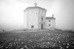 avvolta dalla nebbia (*magma*) Tags: mountain church fog maria s chiesa della nebbia montagna rocca piet calascio explored