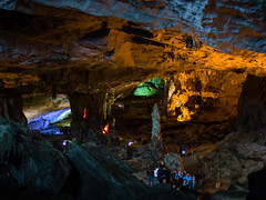 Surprise Cave, Halong Bay (jsengland) Tags: travel vacation tourism asia olympus vietnam surprise cave southeast cavern halong ep3