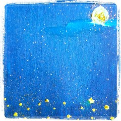 Ceritanya sih ngelukis, tp gatot meeeenn.. hahaha #painting #art #starsinthesky sumpah hayang seuri :)) (amandamanduts) Tags: art painting square squareformat lordkelvin starsinthesky iphoneography instagramapp uploaded:by=instagram