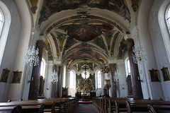 Heusenstamm church interior