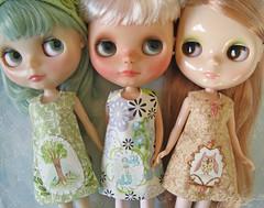 mini painting dresses