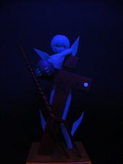 BL Lilith (nuo2x2) Tags: light black angel toy neon glow uv arcade fluorescent blacklight figure sega prize ufocatcher genesis fluorescence rei lilith evangelion ayanami segaprize nuo2x2 nuo2x2toy