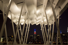 (Arciteka) Tags: park nyc skyline architecture night queens esb gantryplazastatepark hunterspointsouthpark