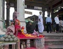 Ma Ganga - D7K 5103 ep (Eric.Parker) Tags: india temple kali kolkata bengal calcutta mandir 2012 westbengal kalighat sindhur maganga adiganga