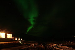 The Northern Lights (Thomas Killestein) Tags: canon out lights iceland focus aurora northern eos400d solarmaximum hoteldyrholaey
