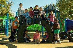Pasco Memorial Park - Pasco, WA (gametimeplay) Tags: playground balance gametime climbers inclusive powerscape playworx