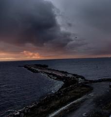Sunset (Sebastian kesson) Tags: autumn sunset sea sun canon happy amazing sweden sverige kpenhamn picofday mnniskor photoofday