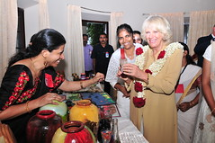 TRH The Prince of Wales and The Duchess of Cornwall in India (6-14 November 2013) (UK in India) Tags: india kerala palace kochi aluva princeofwalesandduchessofcornwall