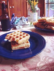Brunch (annahauman) Tags: life winter friends food cold love girl breakfast table fun happy yummy pretty vermont day eat brunch waffles uploaded:by=flickrmobile flickriosapp:filter=nofilter
