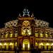 Dresden Semperoper im weihnachtlichem Schmuck