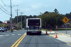 DART's Gillig Rt. 303 bus at the stop on Federal St. opposite New St., Milton 9-10-13 (DART First State) Tags: publictransportation delaware masstransit milton gillig dart dartfirststate delawarebuscompany delawarebuses