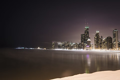 Chiberia (olsonj) Tags: lake snow chicago vortex cold ice water skyline illinois michigan air polar chiberia