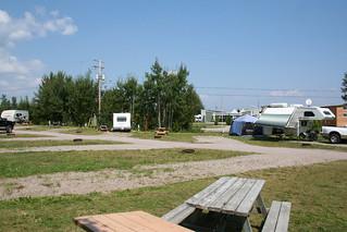 Terrains de camping (St-Prime)