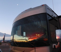 Sunrise in Quartzsite, Arizona (RV Bob) Tags: arizona gimp rv quartzsite